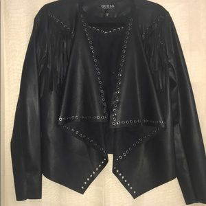 Guess Faux Leather Jacket!!!